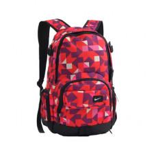 Рюкзак Nike красный с фиолетовым